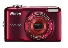 Nikon COOLPIX L28 20.1MP Digital Camera - Red