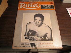 1958 RING BOXING MAGAZINE  SEPTEMBER ISSUE