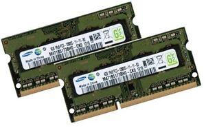 2x 4GB 8GB DDR3 RAM 1600 Mhz Apple mac mini 6,1 6,2 Late 2012 SO DIMM PC3-12800S