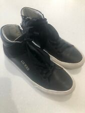 Guess Girl's Black High-top Trainers - Size 36