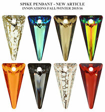 Genuine SWAROVSKI 6480 Crystals Spike Pendants * Many Colors and Sizes