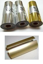 "Hot Stamp Foil -3"" x 95' - You choose: Silver or Gold + Canister Price Reduced"