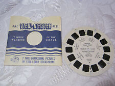 TULIP TIME HOLLAND MICH VINTAGE VIEW-MASTER REELS    T*