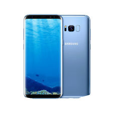 New Samsung Galaxy S8 64GB Dual Sim Unlocked Blue G950FD - Next Day Delivery