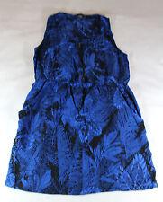 Womens Juniors Forever 21 XXI Sleeveless Dress Sz M Black and Blue
