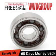 608 Open Type Hybrid Ceramic Ball Bearing 8mm 22mm 7mm SI3N4 [ Non Grease ] Fast