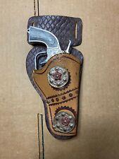 Vintage Kilgore Bighorn Cap Gun with Holster