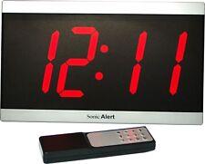 Sonic Alert Bd4000 Large Big Display Maxx Dual Alarm Clock w/Remote Control New
