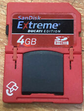SanDisk 4GB Ducati Edition SD Plus Card extreme and usb sdhc 4g class 6