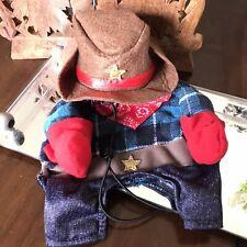Dog Cowboy Costume Extra Small