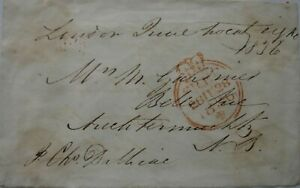 Free Front: 1836 to Auchtermuchty from Lieutenant-General James Charles Dalbaic.