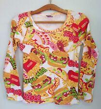 Hysteric Glamour Japan brand auth very RARE tshirt longsleeves Hamburger OLI OLI