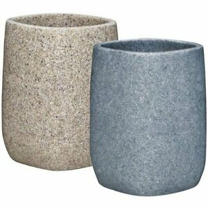 Aqualona Stone-Effect Resin Tumblr   greystone, sandstone