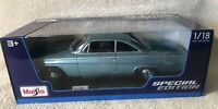 1962 Chevrolet Bel Air - Blue - 1/18 Diecast Model Car By Maisto