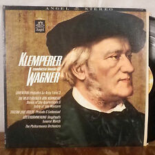 Klemperer Conducts Wagner LP Angel Stereo reissue M-