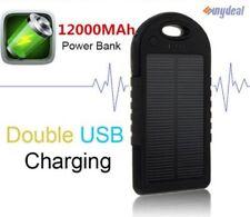 Solar Power-Bank 12000mah Zusatz-Akku/Extra-Pack USB für Handy/Smartphone