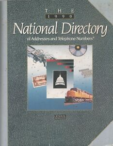 THE 1990 NATIONAL DIRECTORY of USA Company Addresses & Telephone Numbers