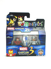 Marvel Minimates Iron Man & Arthur Marvel Vs Capcom TRU Series 1 Toys-R-Us New