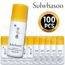 Sulwhasoo Essential Balancing Emulsion EX 5ml X 50pcs (250ml) Sample AMORE