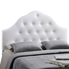 Lexmod Sovereign Queen Vinyl Headboard Category Bedroom Color White MOD-5163-WHI