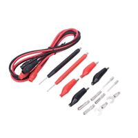 1 set Universal test lead probe wire pen cable for digital multimeter meter 15pc