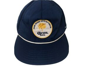 CORONA Extra Cap by Rythum Blue Snap Back Adjustable