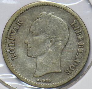 Venezuela 1921 1/4 Bolivar Horse animal 192115 combine shipping