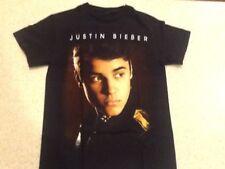 Justin Bieber Believe Tour 2012/2013 Tee Shirt - Small Black T-Shirt