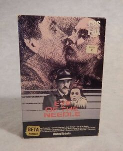 Betamax Beta EYE OF THE NEEDLE 1981 Big Box Donald Sutherland