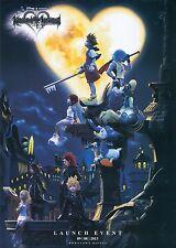 Kingdom Hearts Game Fabric Art Cloth Poster 17inch x 13inch Decor 45