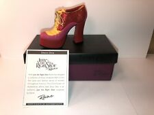 """Raine Just the Right Shoe """"Disco Diva"""" with Box & Coa #25371 Stepping Out 2002"""
