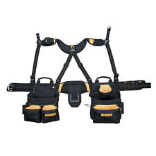 20 Pocket Pro Framer's Combo Apron with Yoke-Style Suspenders DeWalt DG5617 New