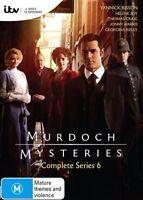 MURDOCH Mysteries Series : Season 6 : NEW DVD