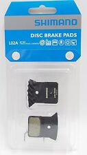 SHIMANO L02A Resin Disc Brake Pads w/ Ice-Tech Fin fits BR-RS805 BR-RS505