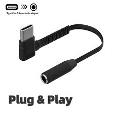 USB-C Type C to 3.5mm Aux Audio Headphone Adapter For Samsung Galaxy Note 10/S20