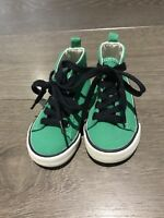 Baby Gap Boys Canvas Boots Infant Sz 5 Eur 23