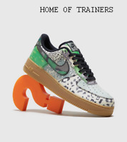 Nike Air Force 1 '07 Low QS Green Brown Men's Trainers All Sizes
