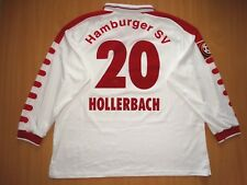 RARE HAMBURG HAMBURGER #20 HOLLERBACH MATCH WORN 1998 1999  shirt TRIKOT LONG