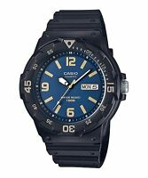 MRW-200H-2B3 Black Casio Men's Watches Resin Band Analog New