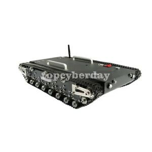 WT-500S Smart RC Robotic Tracked Tank RC Robot Car Base Chassis 30Kg Load
