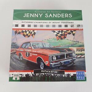 Blue Opal 1000 Piece Jigsaw Puzzle Jenny Sanders Bathurst Moffat's GT-HO NEW