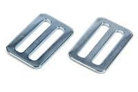 Crow Enterprizes Harness Slide Adjuster - Slide Bar - 2 in Belt - Steel - Pair
