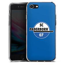 Apple iPhone 8 Silikon Hülle Case - SC Paderborn blau