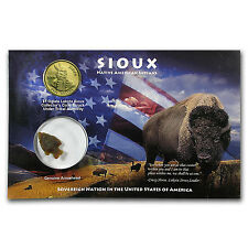 2014 Sioux Dollar w/Arrowhead (Blister Pack) - SKU #97597