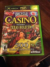 Bicycle Casino 2005 (Includes Texas Hold 'Em) - Xbox Activision Video Game Poker
