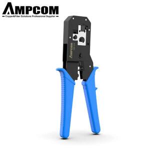 AMPCOM-RJ45 RJ11 RJ12 Network Tool Kits Cable Crimp Crimper LAN Wire Stripper
