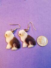 Old English Sheepdog lightweight fun earrings jewelry Free Shipping!
