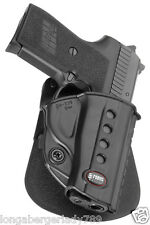 FOBUS ELITE TACTICAL PADDLE HOLSTER FOR SIG SAUER P239 BERETTA BERSA KELTEC S&W