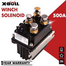 X-Bull 12V 500A Winch Relay Solenoid Controller Switch Boat Atv Control 4Wd 4x4