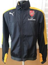 Puma Arsenal Stadium Vent Fly Emirates Men's Jacket Sz S